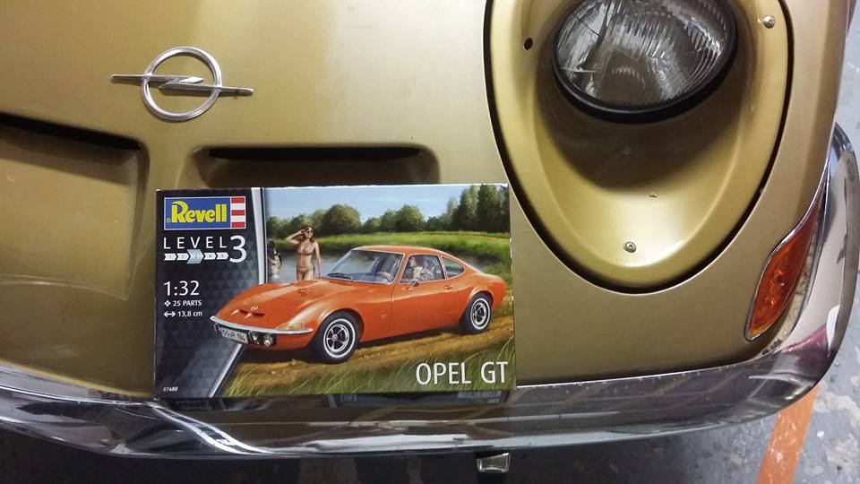 maquette opel gt 1900 forum de l 39 entraide. Black Bedroom Furniture Sets. Home Design Ideas